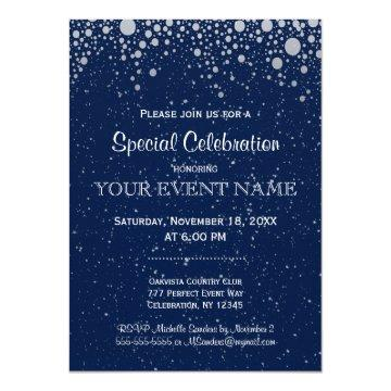 All Purpose | Starry Night in Blue Invitation