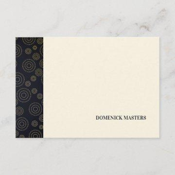 Art Deco Pattern Personalized Stationery Invitation