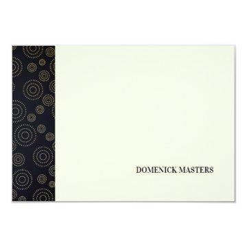Art Deco Pattern Personalized Stationery