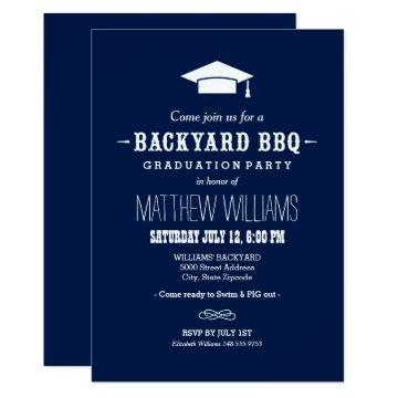 Backyard BBQ  | Graduation Party