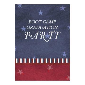 Boot Camp Graduation Party