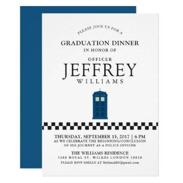 British Police Graduation Party | Announcement