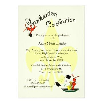 Cajun Graduation Party Graduation Invitations Graduation Invitations