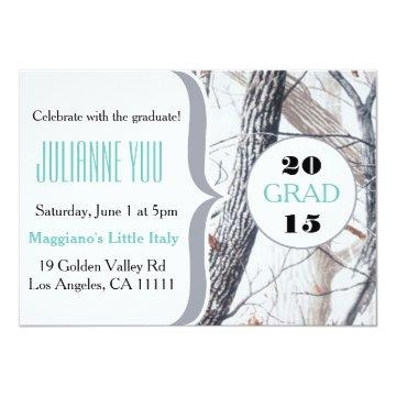 Camo Graduation Party 2015 Personalized Invite