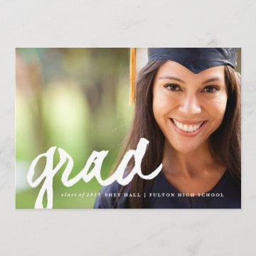 Casual grad script | Graduation Announcement