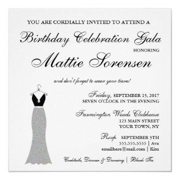Celebrate Elegant Engagement Birthday Bridal Party Invitation
