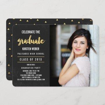 Celebrate | Photo Graduation Party Invitation
