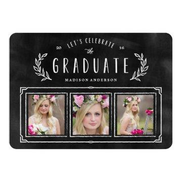 Chalked Wreath Graduation