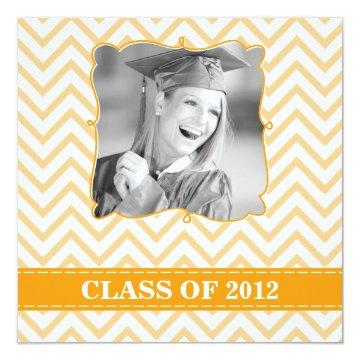 Chevron | Graduation Party Invitation