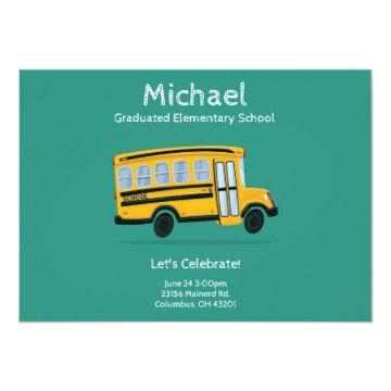 Child's Graduation Party  - Editable