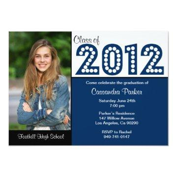 Class of 2012 Graduation SCROLL DOWN for 2013 Invitation