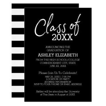 Class of 2018 Graduation Party Card