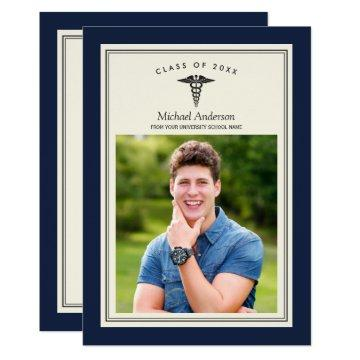 Class of 2018 Medical School Graduation Party Card
