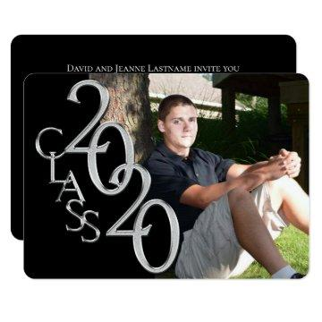 Class of 2020 Photo Graduation Invitation