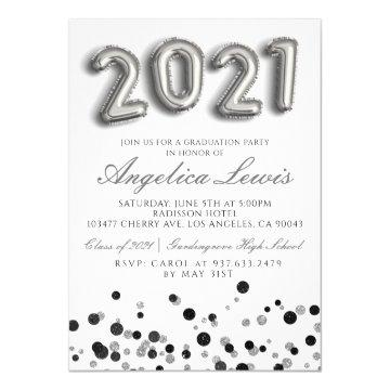 Class of 2021 Graduation Party Invitation