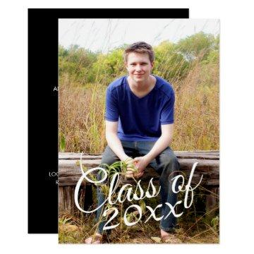 Class of Graduation Photo Announcement