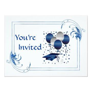 Classy Graduation For College Men or Women Card