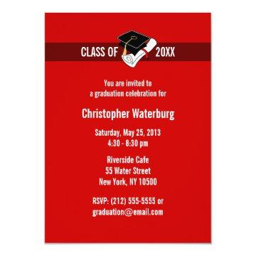 Create Your Own Graduation  Red 10