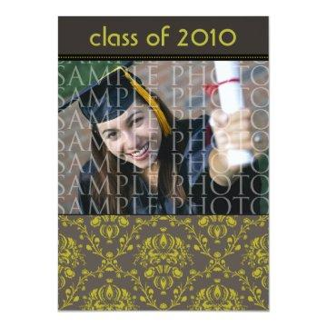 CUSTOM Baroque 5x7 Graduation  (iron)