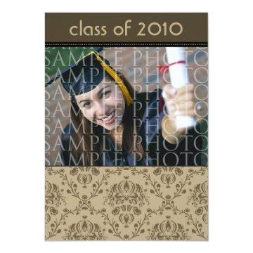 CUSTOM Baroque 5x7 Graduation  (taupe)