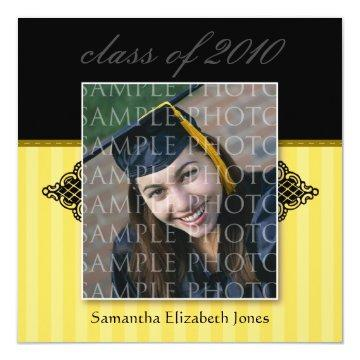 CUSTOM Regal SQUARE Graduation  (gold)