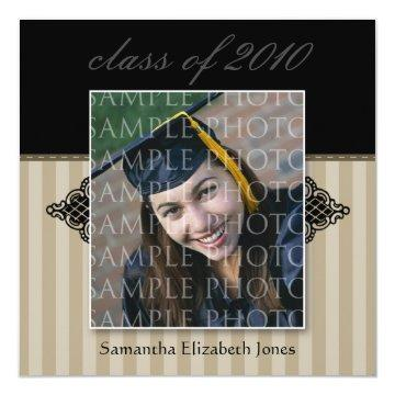 CUSTOM Regal SQUARE Graduation  (taupe)