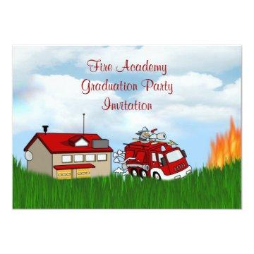 Fire Academy Graduation Party  Fireman