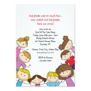 End Of Year Party Invitation Graduation Invitations