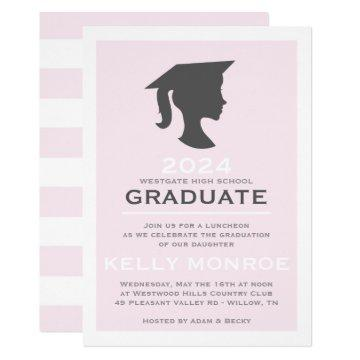Girl Graduation Silhouette