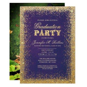 Gold & Glitter Graduation Party