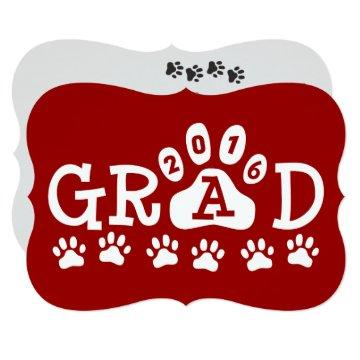 GRAD 2016  Red Paws Graduation