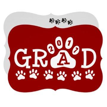 GRAD 2017  Red Paws Graduation