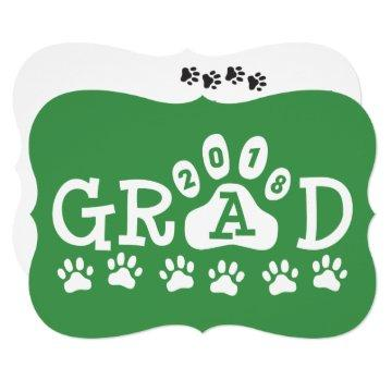 GRAD 2018  Green Paws Graduation