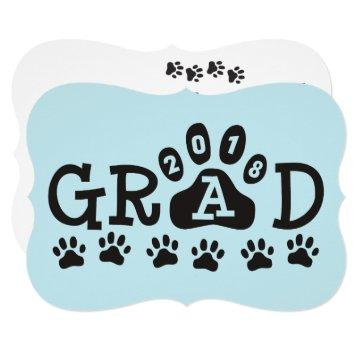 GRAD 2018  Light Blue Paws Graduation