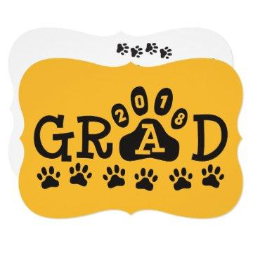 GRAD 2018  Yellow Gold Paws Graduation