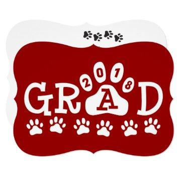 GRAD 2018 Red Paws Graduation