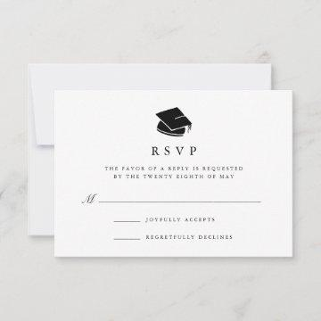 Grad Cap | Graduation Party RSVP Card