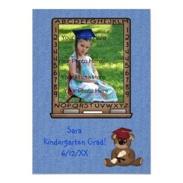 Grade School Graduation Bear Card