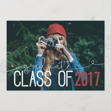 GRADUATE CLASS OF ... ANNOUNCEMENT