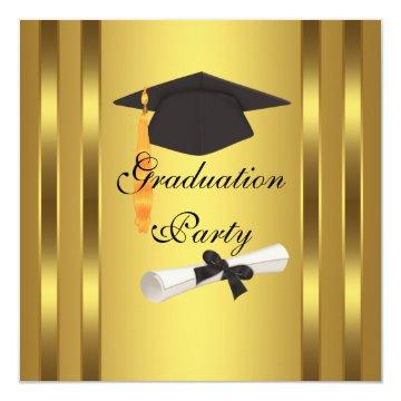 Graduation Cap Diploma Graduation Party Card