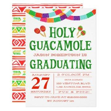 GRADUATION FIESTA INVITATION