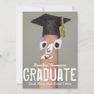 Graduation Funny Grad Cap Cartoon 2020 Graduate Announcement