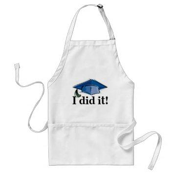 Graduation I Did It! Adult Apron