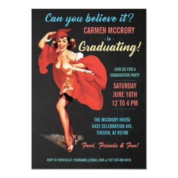Graduation  | Vintage Pin-Up Girl