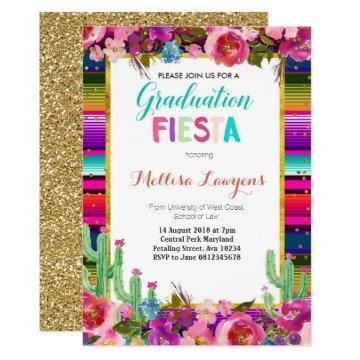 Graduation Party Fiesta Invitation