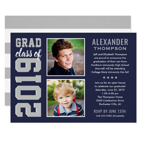 Graduation Party Invitation | Grad Class of 2019