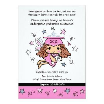 Graduation Princess Invitation