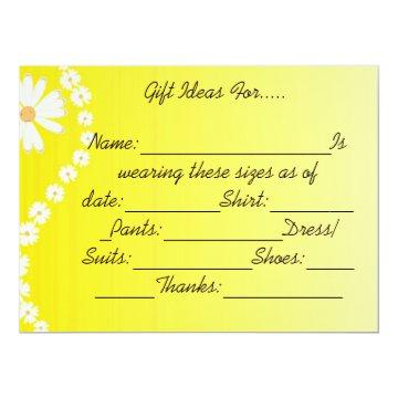 HAPPY GIFTING IDEAS CARD