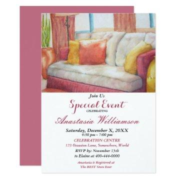HOUSEWARMING PARTY EVENT INVITE