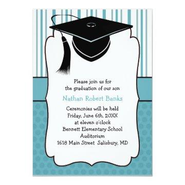 Kids Graduation Announcements (for a boy)